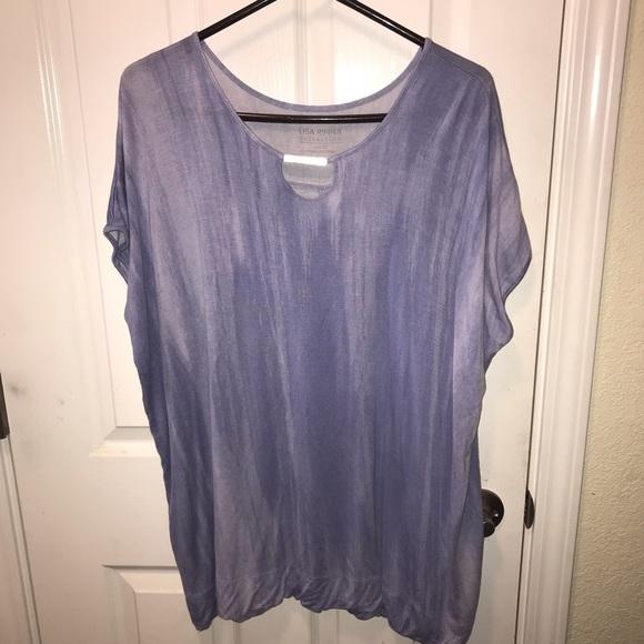 Lisa Rinna Tops - Lisa Rinna  Collection Knit top neckline detail XS